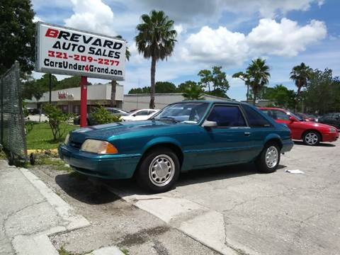 1993 Ford Mustang for sale in Palm Bay, FL