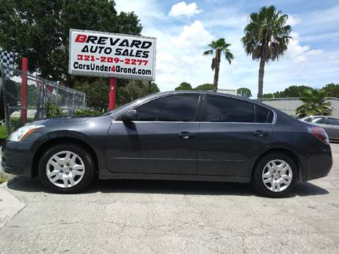 2012 Nissan Altima for sale in Palm Bay, FL