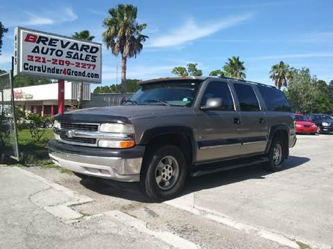 2001 Chevrolet Suburban for sale in Palm Bay, FL