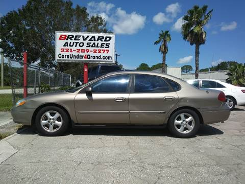 2002 Ford Taurus for sale in Palm Bay, FL