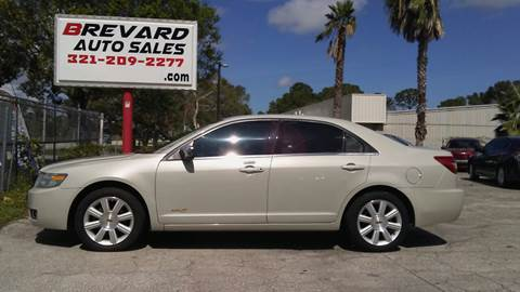 2007 Lincoln MKZ for sale in Palm Bay, FL