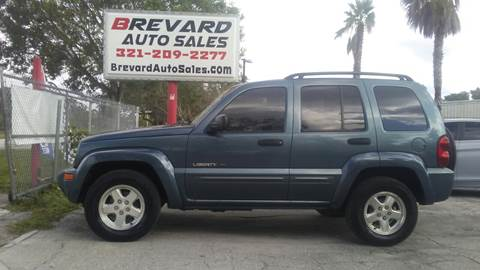 2002 Jeep Liberty for sale in Palm Bay, FL