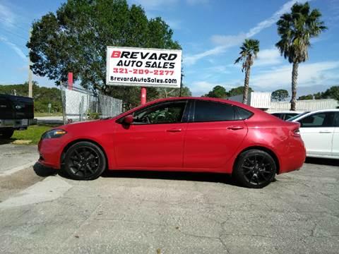 2013 Dodge Dart for sale at Brevard Auto Sales in Palm Bay FL