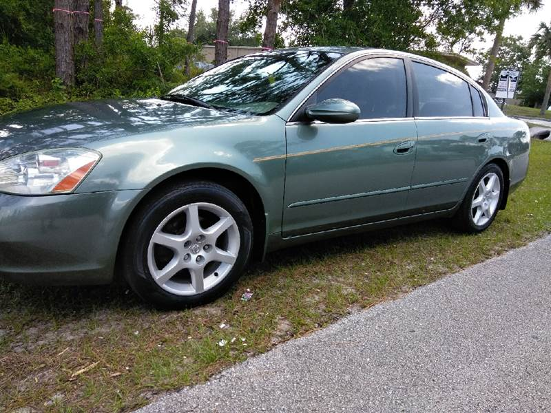 2003 Nissan Altima 2.5 4dr Sedan   Palm Bay FL