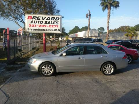 2006 Honda Accord for sale in Palm Bay, FL