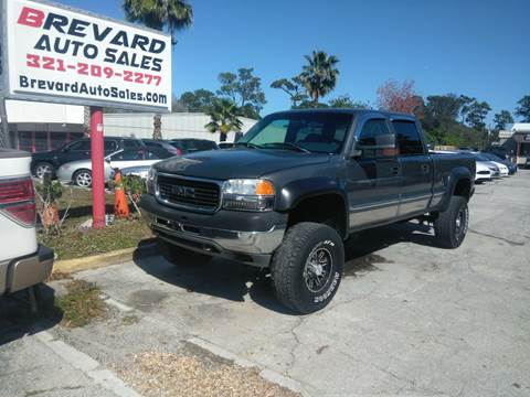 2002 GMC Sierra 2500HD for sale in Palm Bay, FL