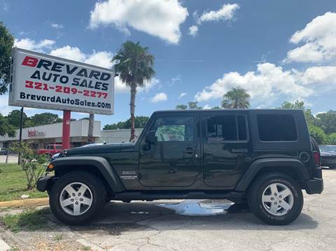 2010 Jeep Wrangler Unlimited for sale in Palm Bay, FL