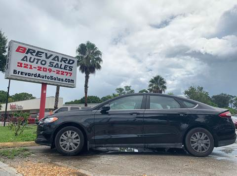 Palm Bay Ford Palm Bay Fl Cars Com >> 2014 Ford Fusion For Sale In Palm Bay Fl