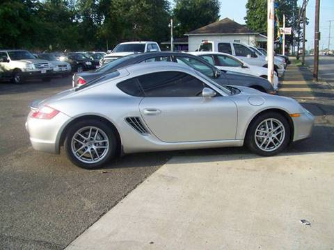 2008 Porsche Cayman for sale at Collector Car Co in Zanesville OH