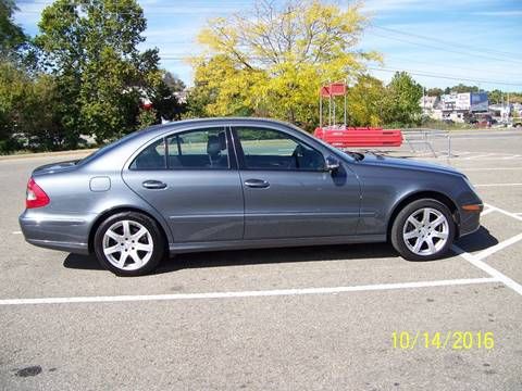 Used 2007 mercedes benz e class for sale in ohio for Used mercedes benz for sale in ohio