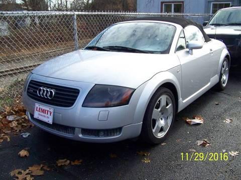2002 Audi TT for sale in Zanesville, OH