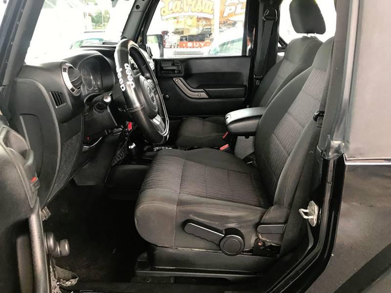 2012 Jeep Wrangler for sale at Lavista Auto Plex in La Vista NE