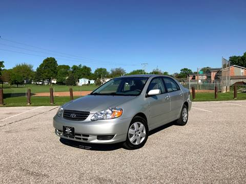 2004 Toyota Corolla for sale at Lavista Auto Plex in La Vista NE