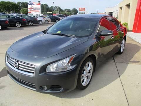 2012 Nissan Maxima for sale at Premium Auto Collection in Chesapeake VA