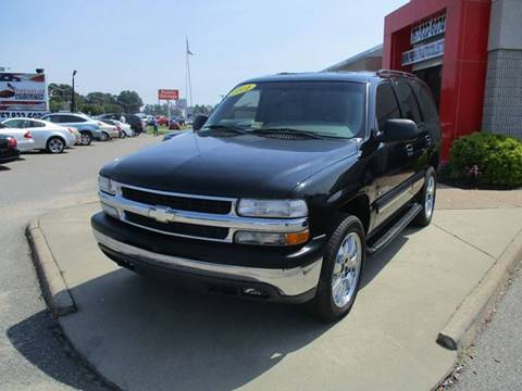 2001 Chevrolet Tahoe for sale at Premium Auto Collection in Chesapeake VA