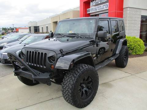 2010 Jeep Wrangler Unlimited for sale at Premium Auto Collection in Chesapeake VA