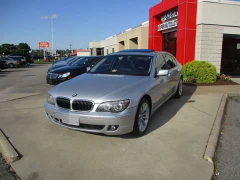 2008 BMW 7 Series for sale at Premium Auto Collection in Chesapeake VA