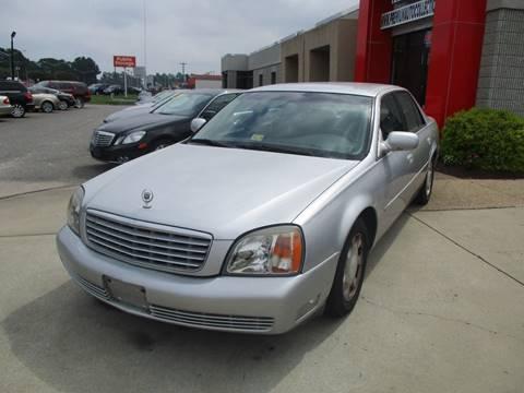 2001 Cadillac DeVille for sale at Premium Auto Collection in Chesapeake VA