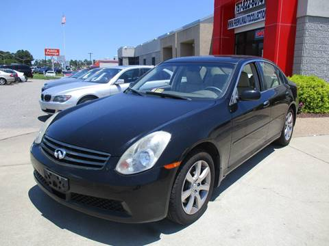 2006 Infiniti G35 for sale at Premium Auto Collection in Chesapeake VA