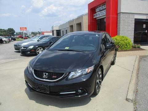 2013 Honda Civic for sale at Premium Auto Collection in Chesapeake VA