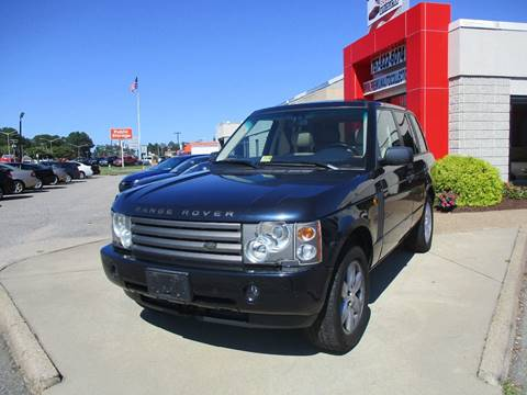 2003 Land Rover Range Rover for sale at Premium Auto Collection in Chesapeake VA