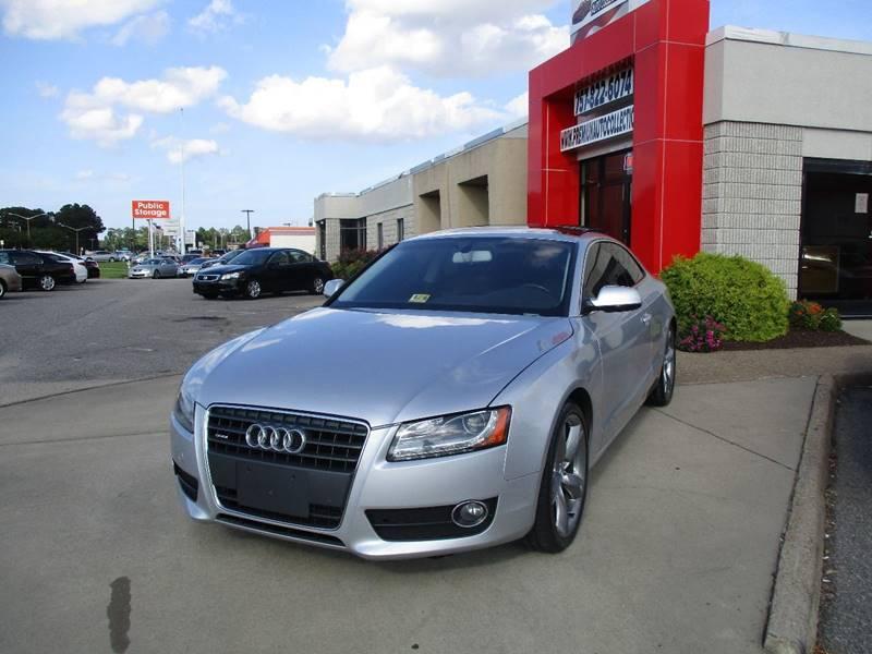 2010 Audi A5 for sale at Premium Auto Collection in Chesapeake VA