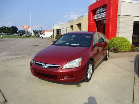 2007 Honda Accord for sale at Premium Auto Collection in Chesapeake VA