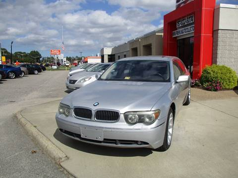 2002 BMW 7 Series for sale in Chesapeake, VA