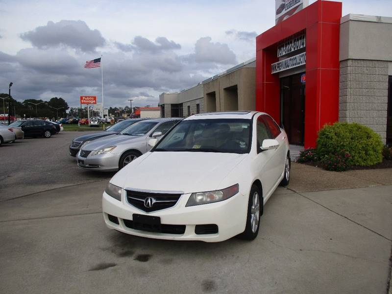 Acura TSX In Chesapeake VA Premium Auto Collection - Acura tsx 2004 for sale