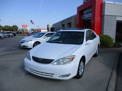 2003 Toyota Camry for sale at Premium Auto Collection in Chesapeake VA