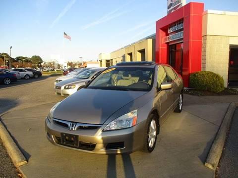 2006 Honda Accord for sale at Premium Auto Collection in Chesapeake VA