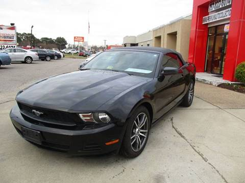 2010 Ford Mustang for sale at Premium Auto Collection in Chesapeake VA