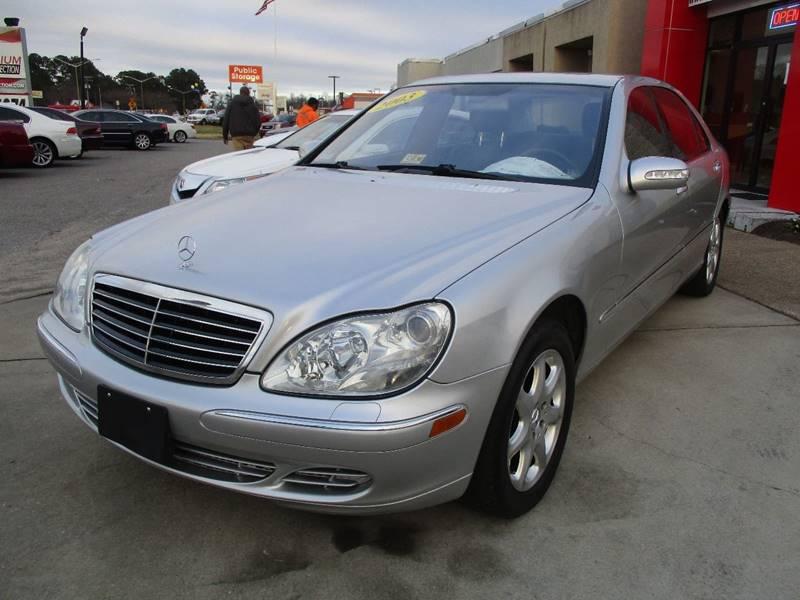2003 Mercedes-Benz S-Class for sale at Premium Auto Collection in Chesapeake VA