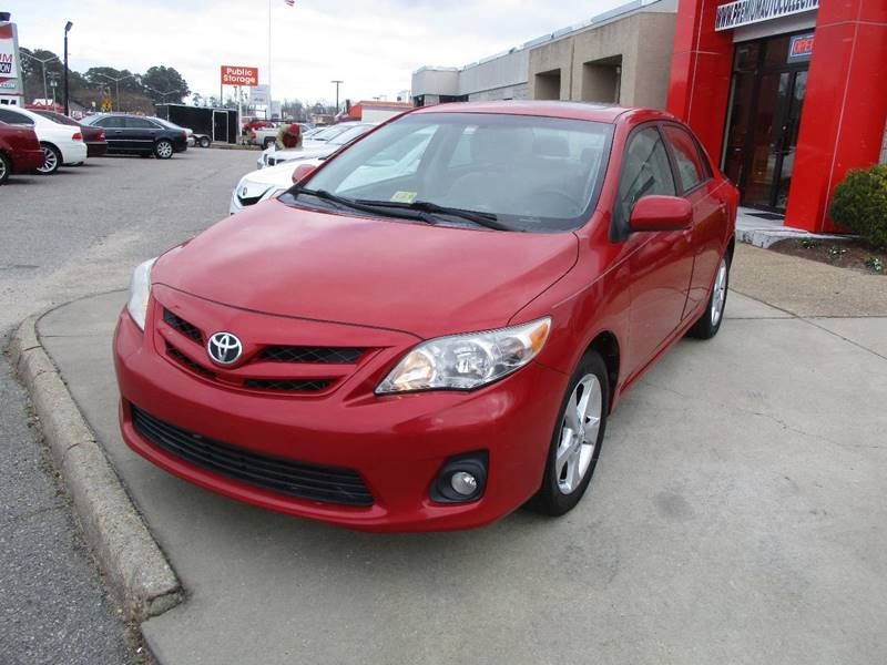 2012 Toyota Corolla For Sale At Premium Auto Collection In Chesapeake VA