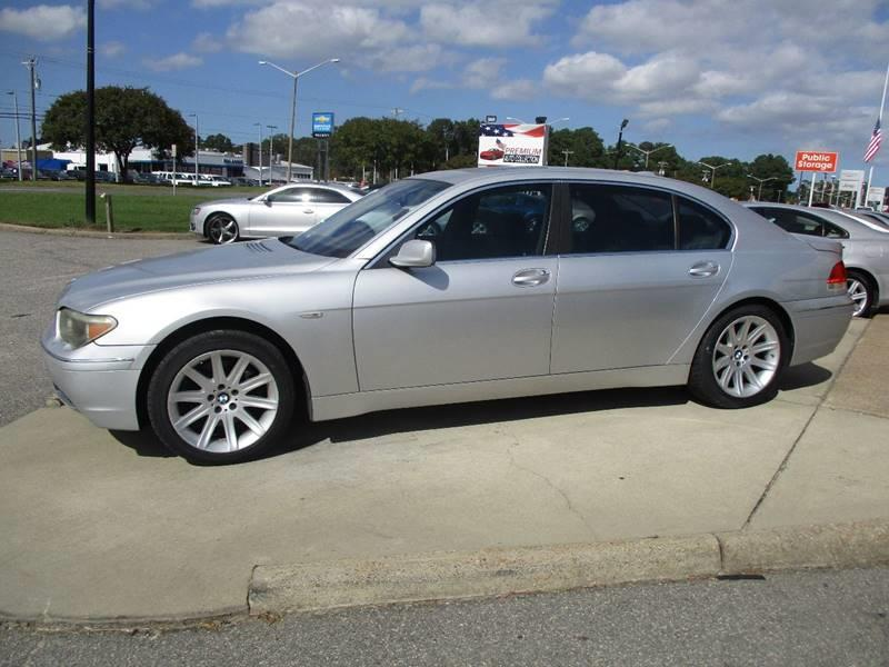 2002 BMW 7 Series 745Li In Chesapeake VA - Premium Auto Collection