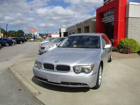 2002 BMW 7 Series for sale at Premium Auto Collection in Chesapeake VA