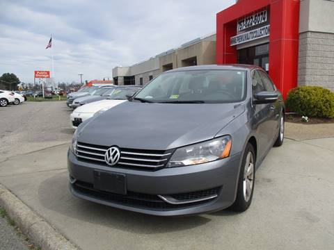 2012 Volkswagen Passat for sale at Premium Auto Collection in Chesapeake VA