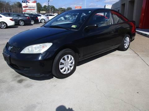 2005 Honda Civic for sale at Premium Auto Collection in Chesapeake VA