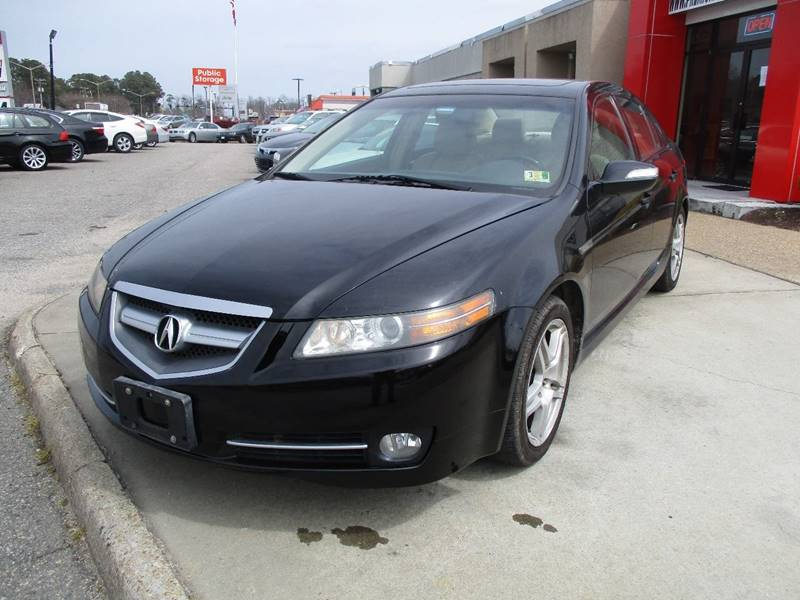 Acura TL WNavi In Chesapeake VA Premium Auto Collection - 2007 acura tl for sale