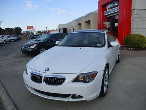 2007 BMW 6 Series for sale at Premium Auto Collection in Chesapeake VA