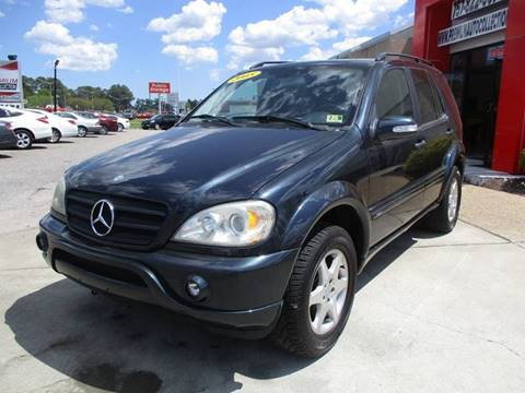 2005 Mercedes-Benz M-Class for sale at Premium Auto Collection in Chesapeake VA