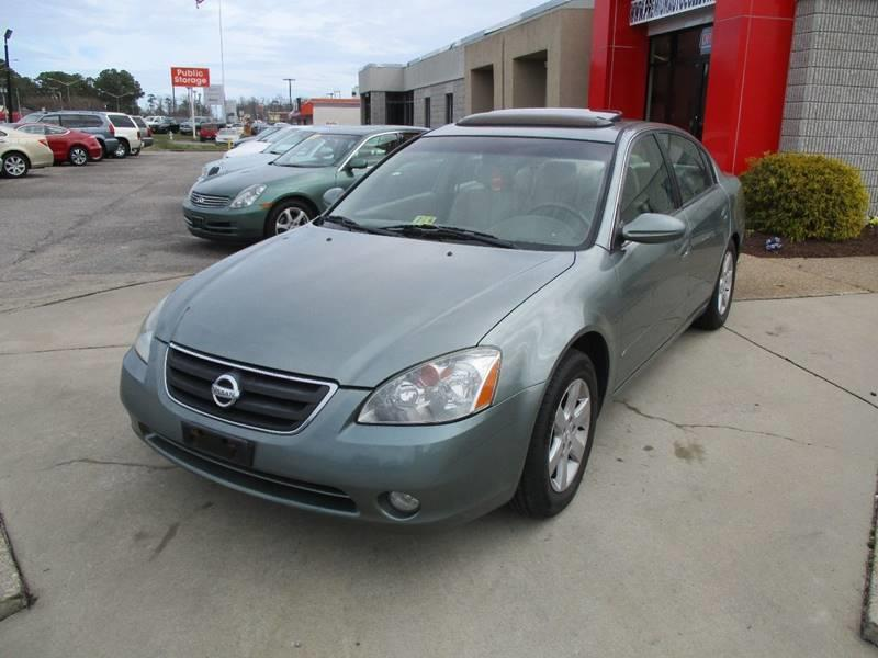2003 Nissan Altima For Sale At Premium Auto Collection In Chesapeake VA