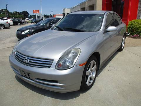 2003 Infiniti G35 for sale at Premium Auto Collection in Chesapeake VA