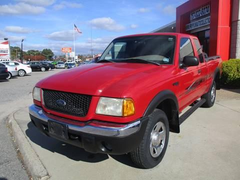 2001 Ford Ranger for sale in Chesapeake, VA