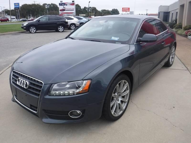 2011 Audi A5 for sale at Premium Auto Collection in Chesapeake VA