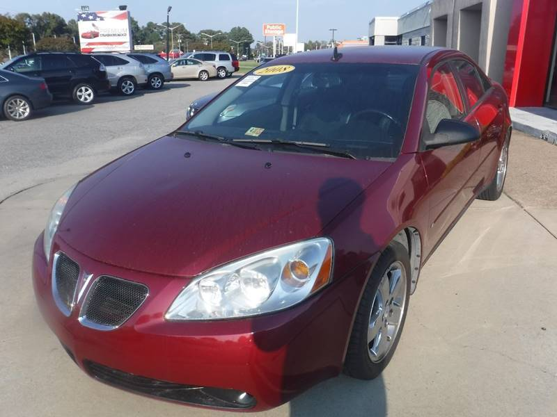 2008 Pontiac G6 Gt In Chesapeake Va Premium Auto Collection