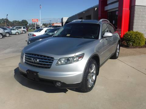2004 Infiniti FX35 for sale at Premium Auto Collection in Chesapeake VA