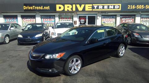 2013 Acura ILX for sale at DRIVE TREND in Cleveland OH