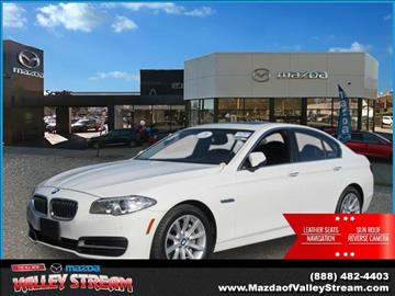 2014 BMW 5 Series for sale in Valley Stream NY