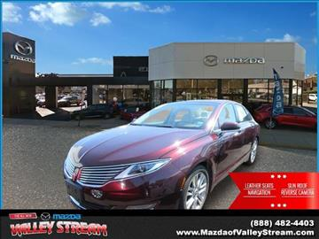 2013 Lincoln MKZ for sale in Valley Stream NY